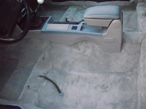 Mustang Floor Carpet Coupe & Hatchback Titanium Gray (90-92)