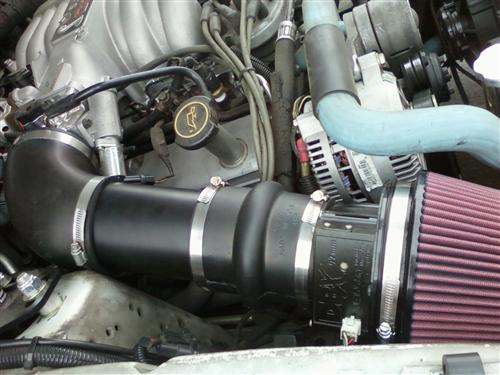 Mustang Shorty Power Pipe (86-93) 5.0L 4""