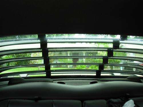 Mustang Rear Window Louvers (94-04)