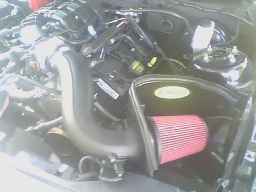 Mustang Airaid 3.7L V6 Cold Air Intake Kit (11-14)