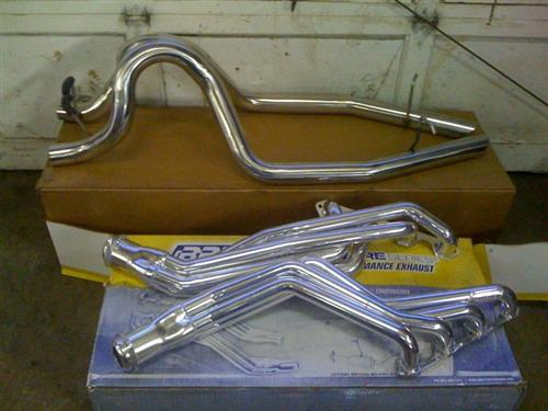 Mustang BBK 5.0L 5-Speed Ceramic Coated Long Tube Headers (79-93)