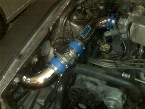 Mustang BBK V8 Fenderwell Cold Air Intake Kit (89-93)