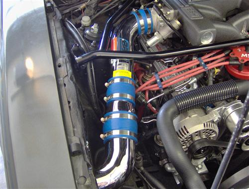 Customer Image - Mustang BBK V8 Fenderwell Cold Air Intake Kit (86-88)