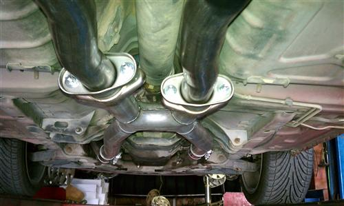 Mustang BBK 5.0L Off Road X-Pipe for Shorty Headers (79-93)