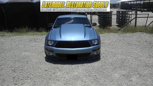 "Mustang Cervini's 4"" Cowl Induction Fiberglass Hood (05-09)"