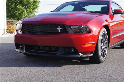Mustang Cervinis  Black Upper Billet Grille with Pony Emblem (10-12)