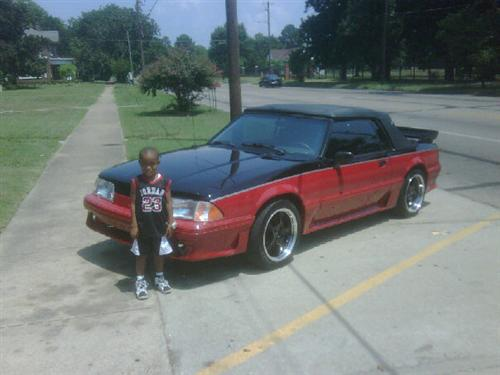 1983-90 Mustang Black Convertible Top Kit
