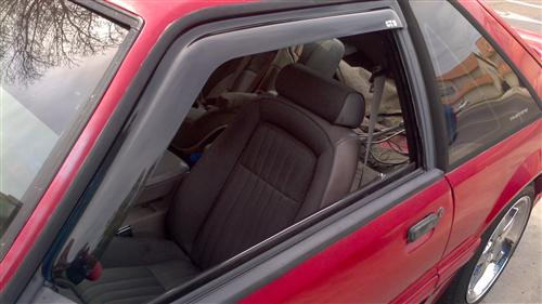 Mustang Vent-Gard Window Rain Deflectors (83-93)