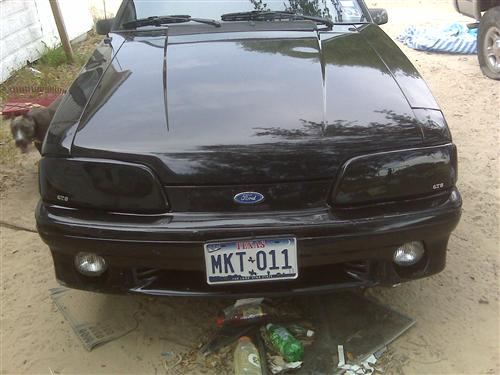 Mustang Smoked Headlight Covers (87-93)