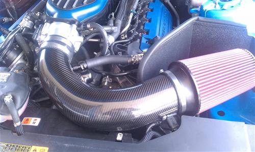 Mustang JLT Carbon Fiber Cold Air Intake Tuner Kit (11-14) 5.0L