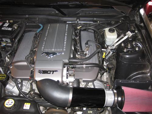 Customer Image - Mustang JLT Series 3 Intake & Tuner Kit (05-09) 4.6L