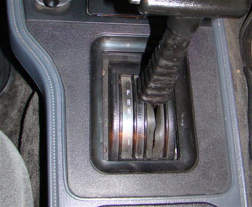 Mustang  Shifter Bezel for Automatic Transmission (79-86)
