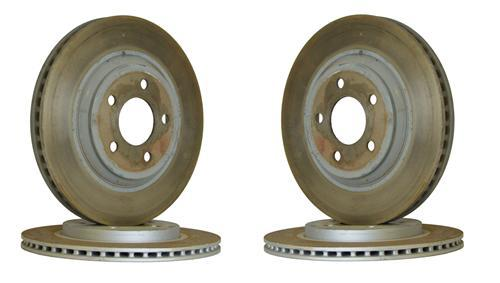 Mustang Factory Takeoff Brake Rotor Set (05-10)