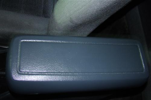 Mustang Console Arm Rest Pad Gray  (79-93)