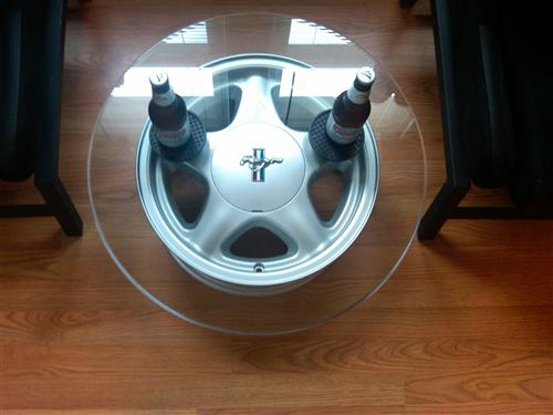Mustang  Pony Wheel w/ Ford Licensed Center Cap - 16X7 Silver (79-93)