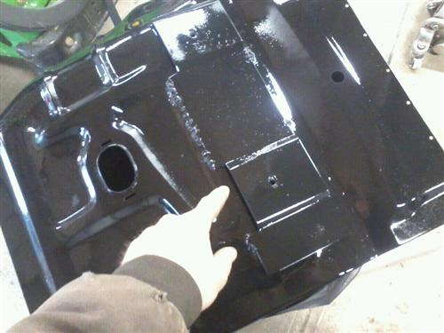 Mustang Floor Pan Reinforcement Panel (79-93)