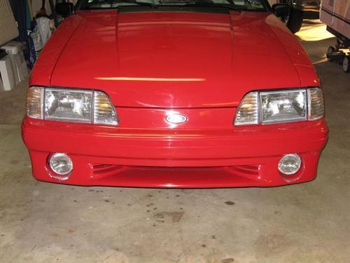 Mustang Economy Headlight Kit with Amber Sidemarkers (87-93)