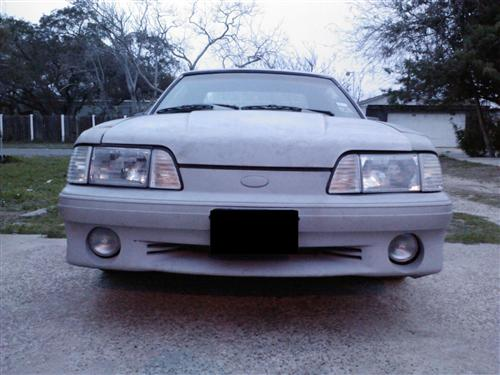 Customer Image - Mustang Economy Headlight Kit with Clear Sidemarkers (87-93)