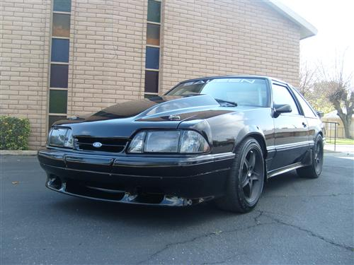 1987-93 Mustang Smoked Headlight Kit