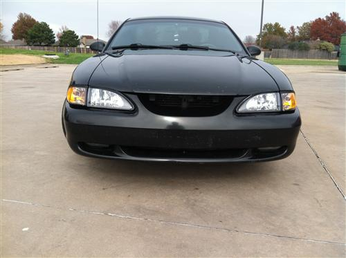 Mustang SVE Diamond Black Headlight Kit (94-98)