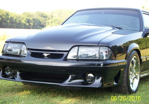 Mustang SVE Ultra Smoked Headlight Kit (87-93)