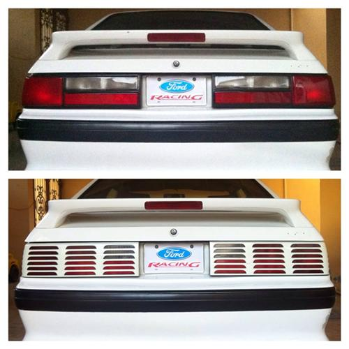Mustang LX Tail Light Assembly Kit (87-93)