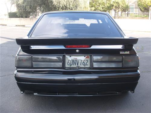 Mustang SVE Smoked LX Tail Light Lens Kit (87-93)