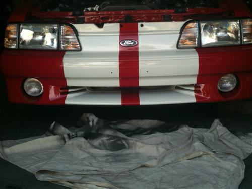 1987-93 Mustang GT Fog Light Kit