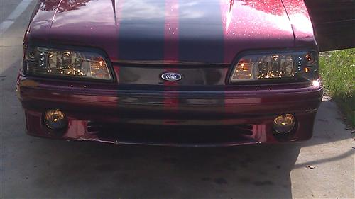 Mustang Smoked Fog Light Kit (87-93)