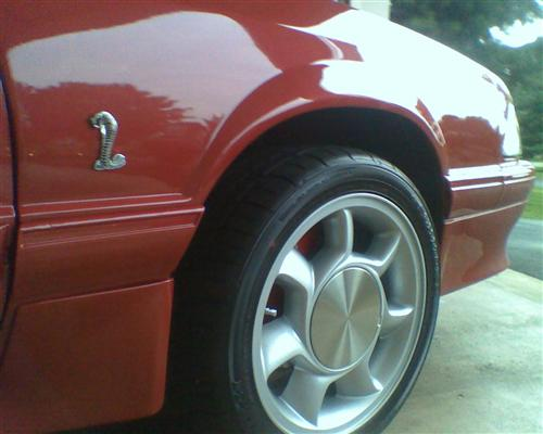 Mustang Cobra Fender Emblem Kit (79-04)