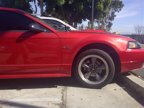 Mustang 4.6 Fender Emblem Chrome