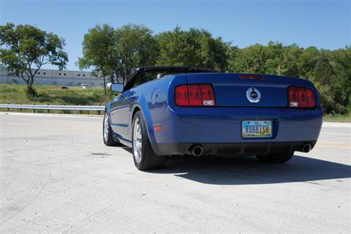 Mustang GT500 & GT/CS Rear Bumper Cover (05-09)