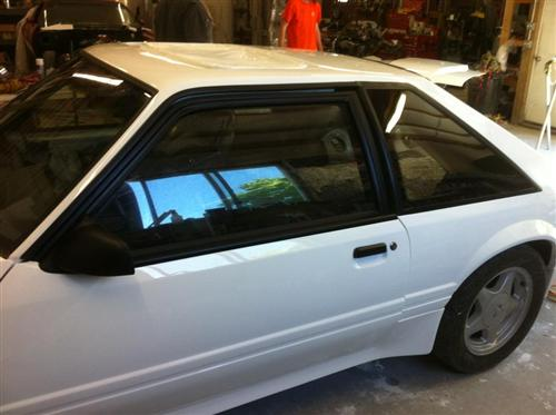 Mustang Quarter Windows (87-93) Hatchback