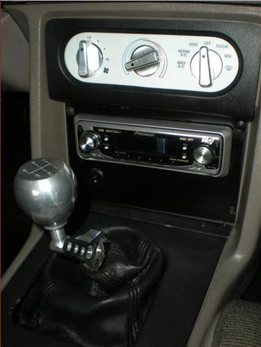 Mustang Trick Billet Trick Stick Shift Handle