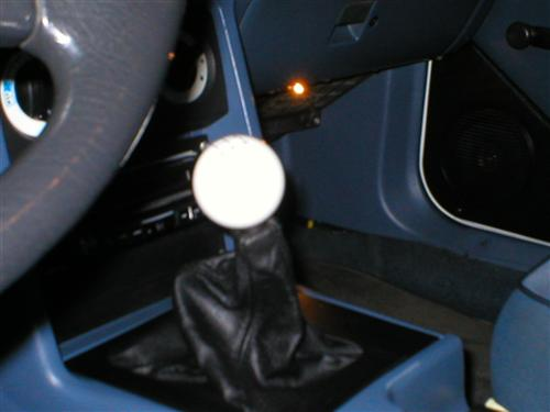 Mustang Leather Upper Shift Boot (87-93)