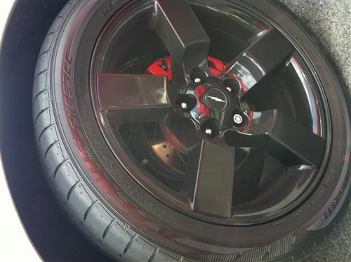 "F-150 SVT Lightning 20X9"" Wheel Gloss Black (99-04)"
