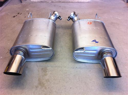Mustang Ford Racing GT500 Axle-Back Exhaust Kit (11-14)