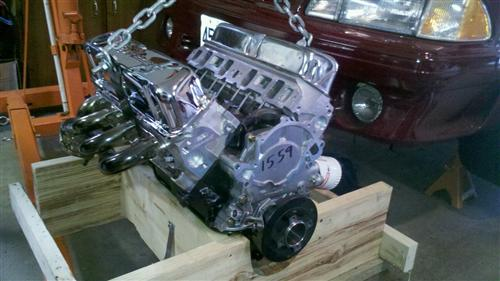 Mustang Ford Racing M-6007-X302 306ci 340HP Crate Engine (79-95) 5.0