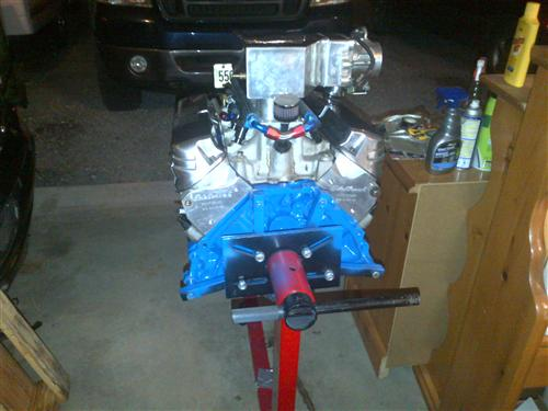 Mustang Ford Racing 331ci Boss Short Block (79-95)