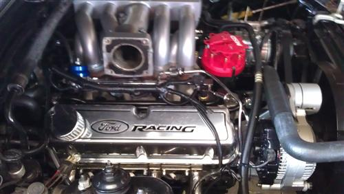 Mustang Ford Racing Logo Tall Valve Covers, Carbureted