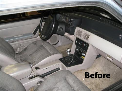 Mustang Black Laquer Interior Paint (79-89)