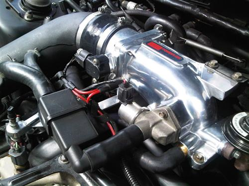 Mustang Professional Products 75mm Intake Plenum Polished (96-04) 4.6 2V