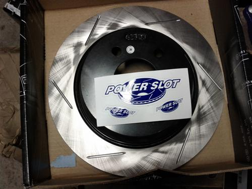 Mustang Slotted Rear Brake Rotors (94-04)