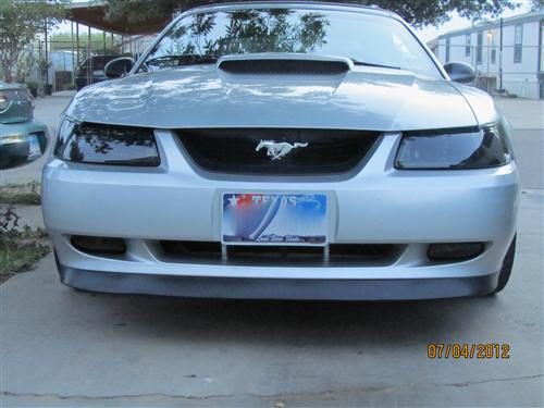 Mustang SVE Dark Smoked Headlight Kit (99-04)