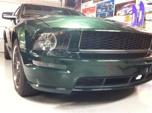 Mustang Black Front Bumper Park Lights (05-09)