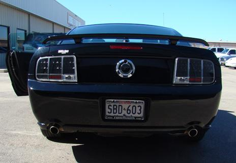 Mustang Black Led Sequential Tail Lights (05-09)