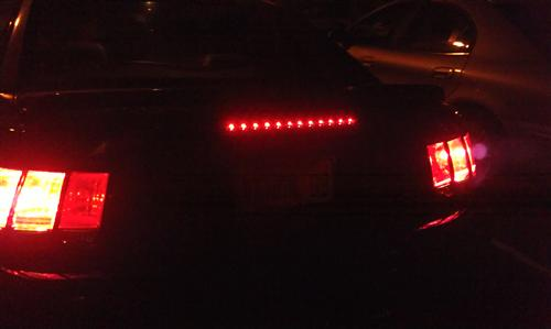 Mustang SVE LED Third Brake Light Smoked (99-04)