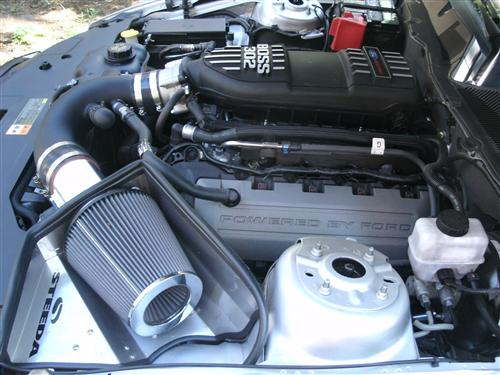 Mustang Steeda GT 5.0L Cold Air Intake, Manual Transmission (11-14)