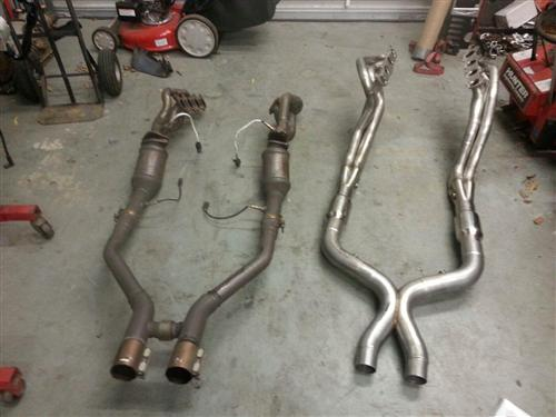 Mustang Stainless Works Headers & Catalytic X-Pipe Kit With Tune (11-14)