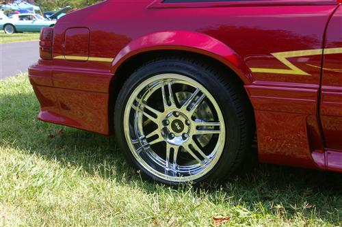 Mustang SVE Deep Dish Anniversary Wheel - 18x10 Chrome (94-04)